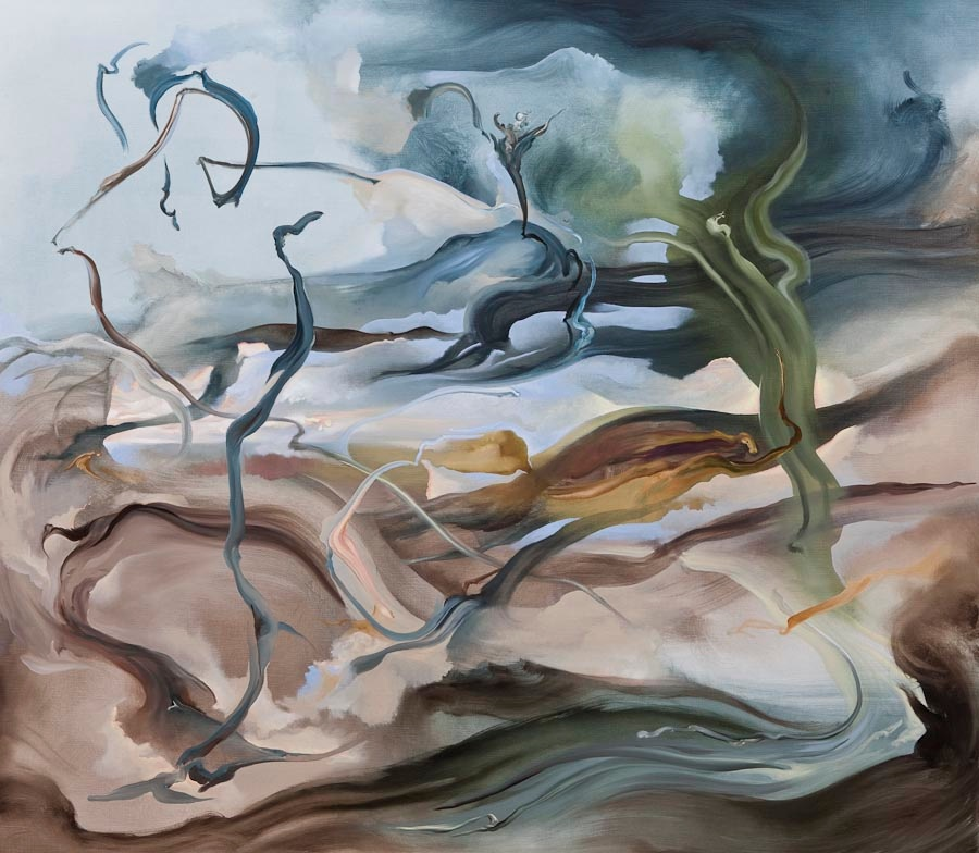 Searching for Imaginary Places I (Linneaus), 2011, oil on canvas, 140 x 160 cm