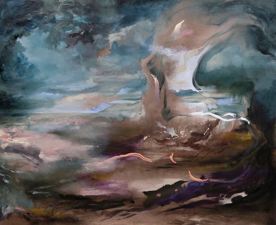 Searching for Imaginary Places VI (Peritoneum), 2011, oil on canvas, 135 x 165 cm