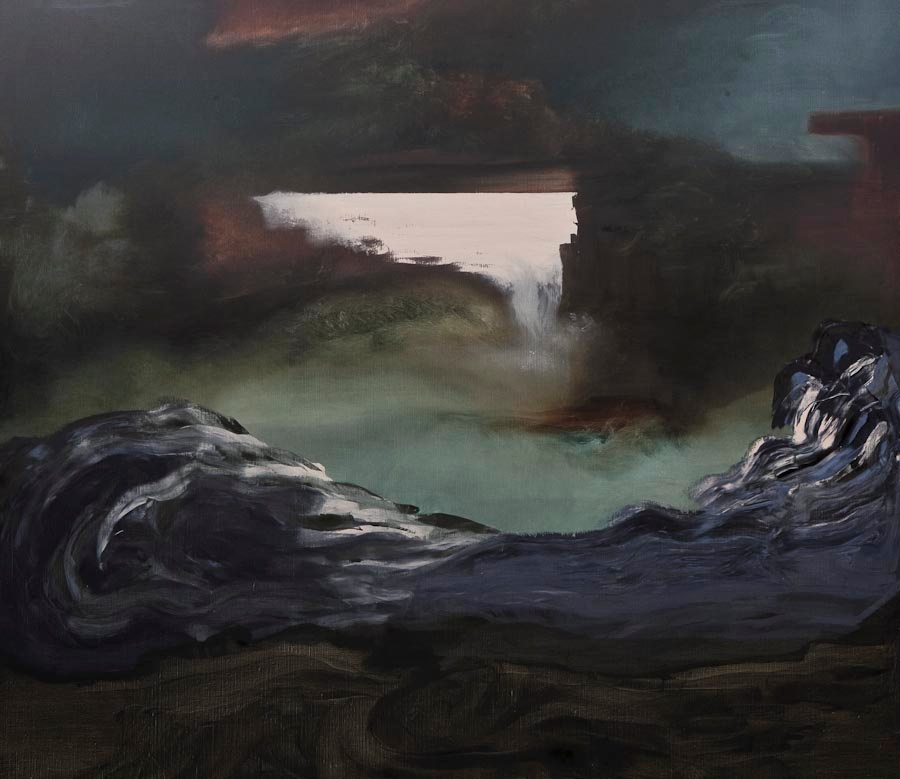 Searching for Imaginary Places X (Titania), 2011, oil on canvas, 175 x 200 cm