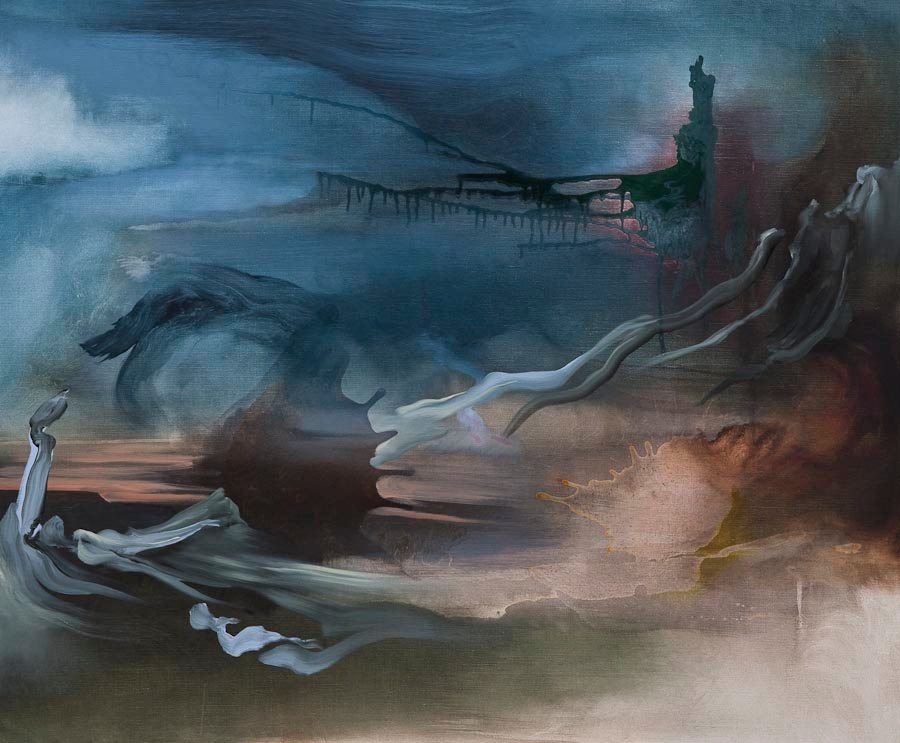 Searching for Imaginary Places XIV (Coast of Maud), 2011, oil on canvas, 100 x 120 cm