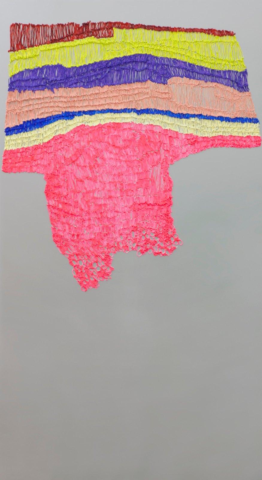 Handmade # 7, 2011-2012, acrylic on alucore, 220 x 120 cm