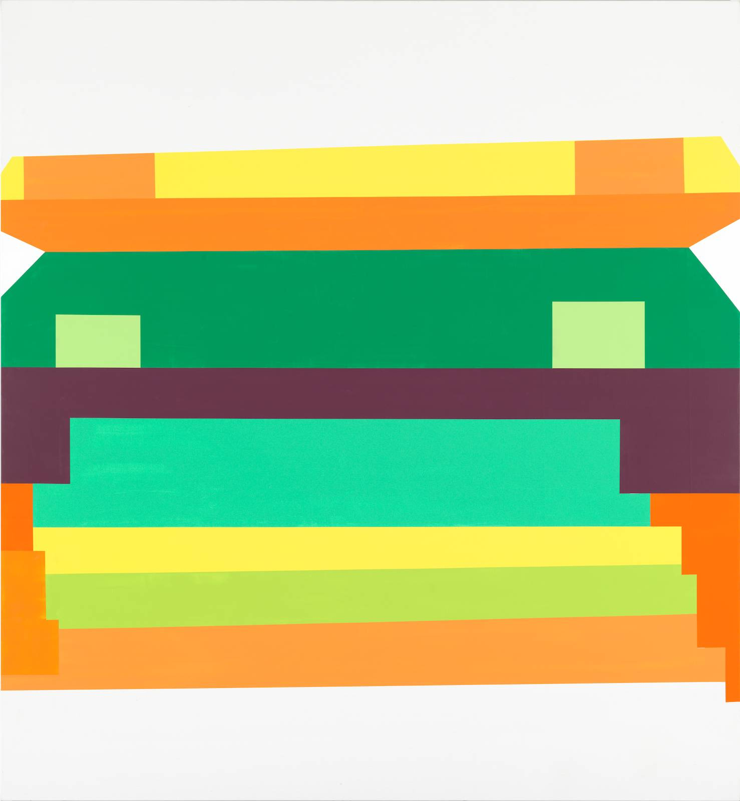 Panorama/The Second Generation, No.03, 2011/12, acrylic on canvas, 265 x 245 cm