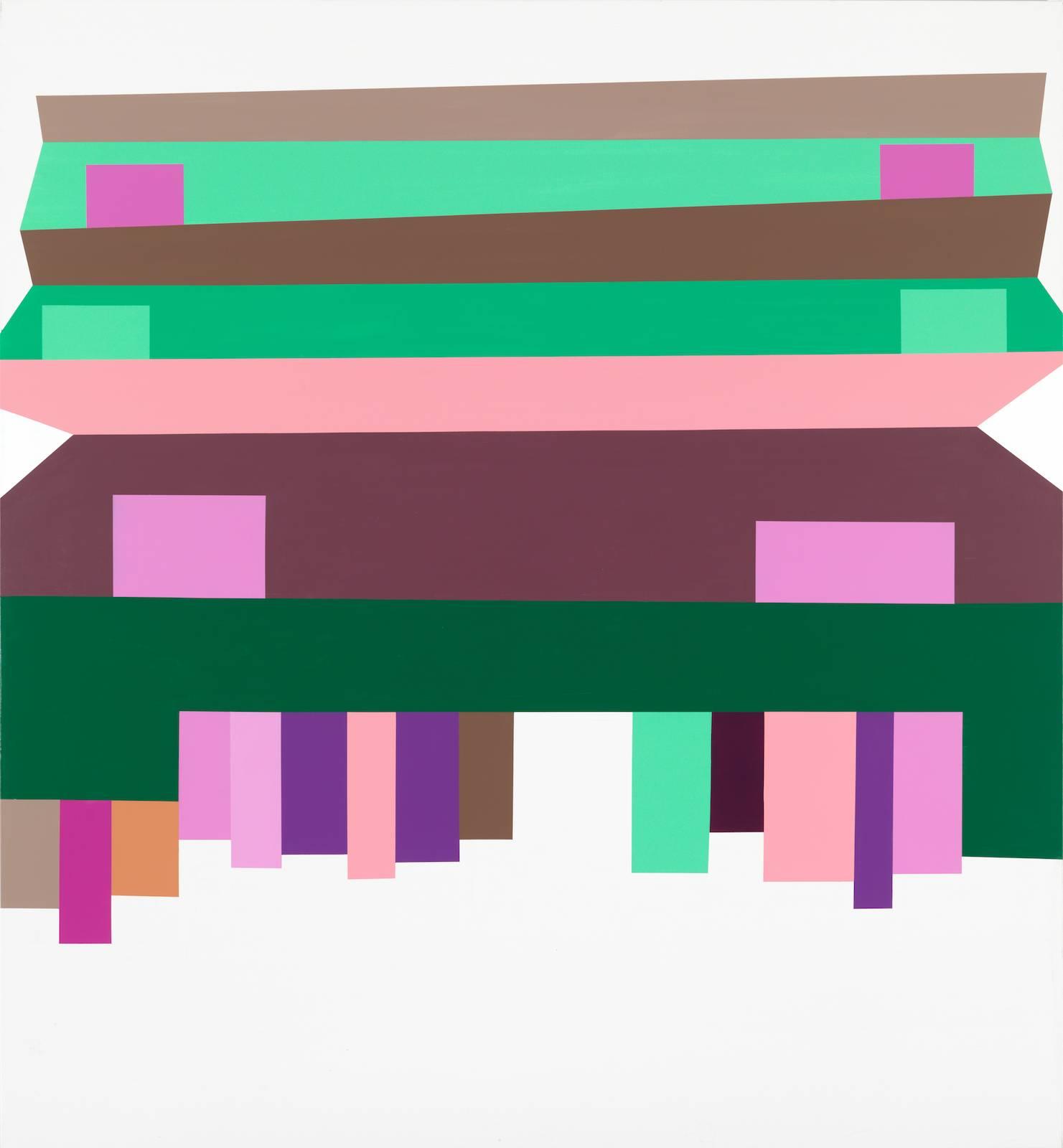 Panorama/The Second Generation, No.01 Marguerita, 2011/12, acrylic on canvas, 265 x 245 cm