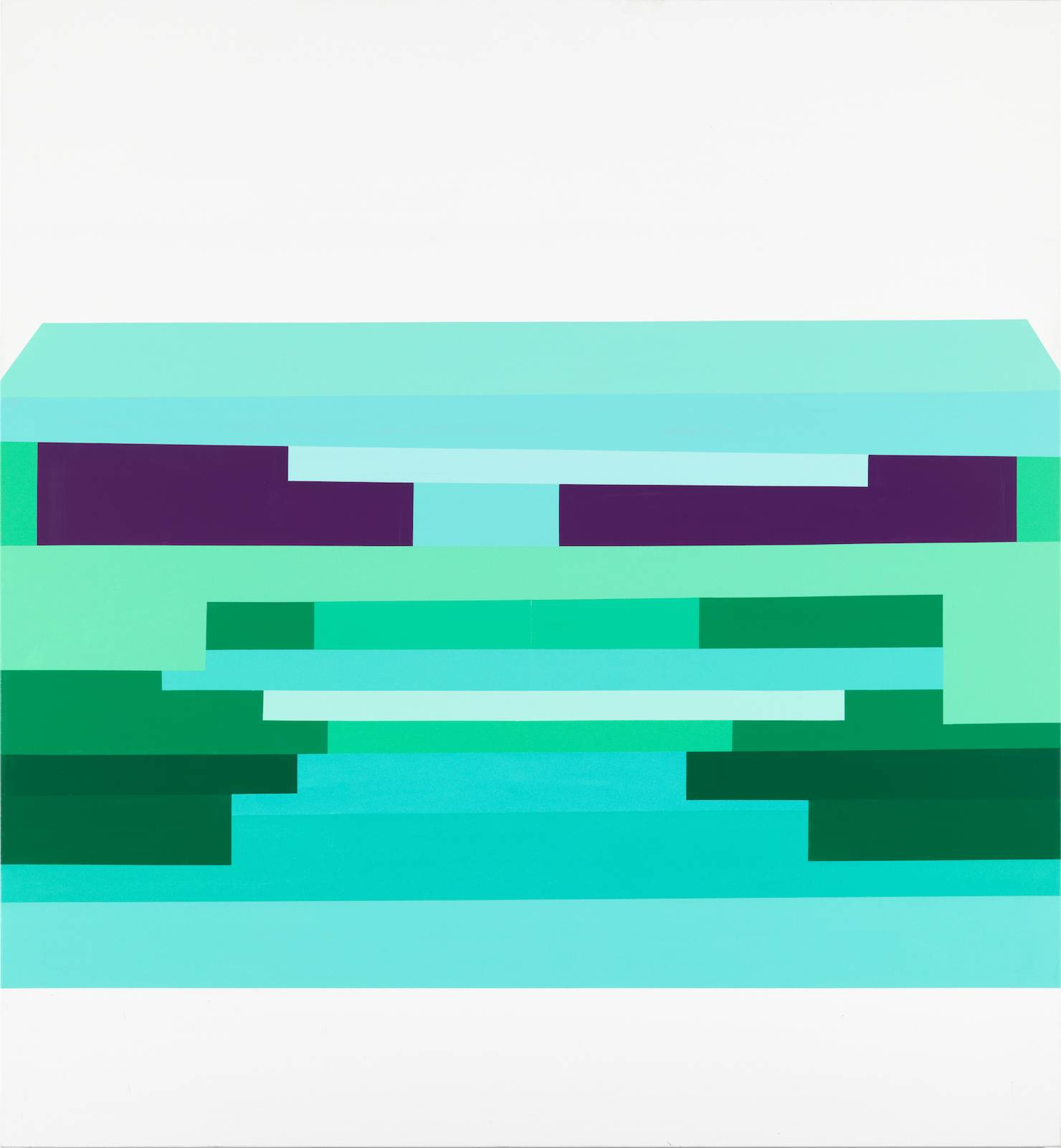 Panorama/The Second Generation, No.06, 2011/12, acrylic on canvas, 265 x 245 cm