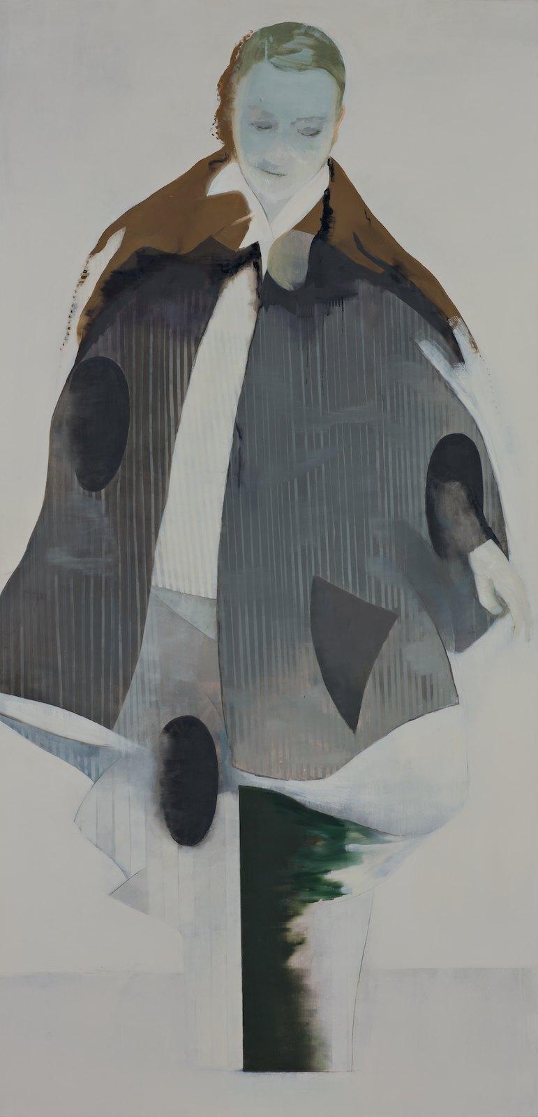 The Else Wren, 2012, oil on canvas over panel, 198,5 x 97