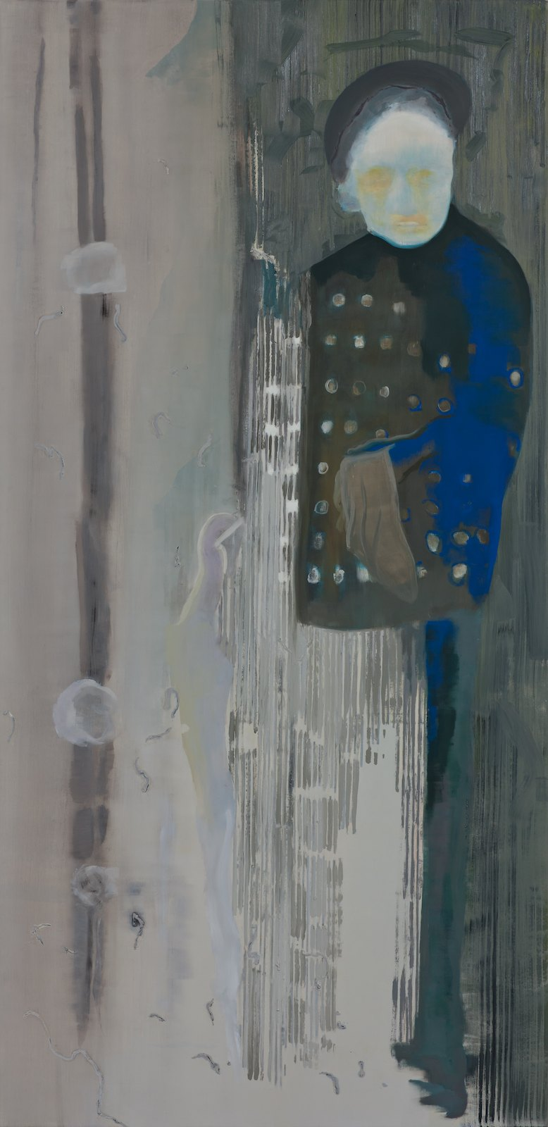 The Bungler, 2012, oil on polyester canvas over panel, 198,5 x 96,5 cm