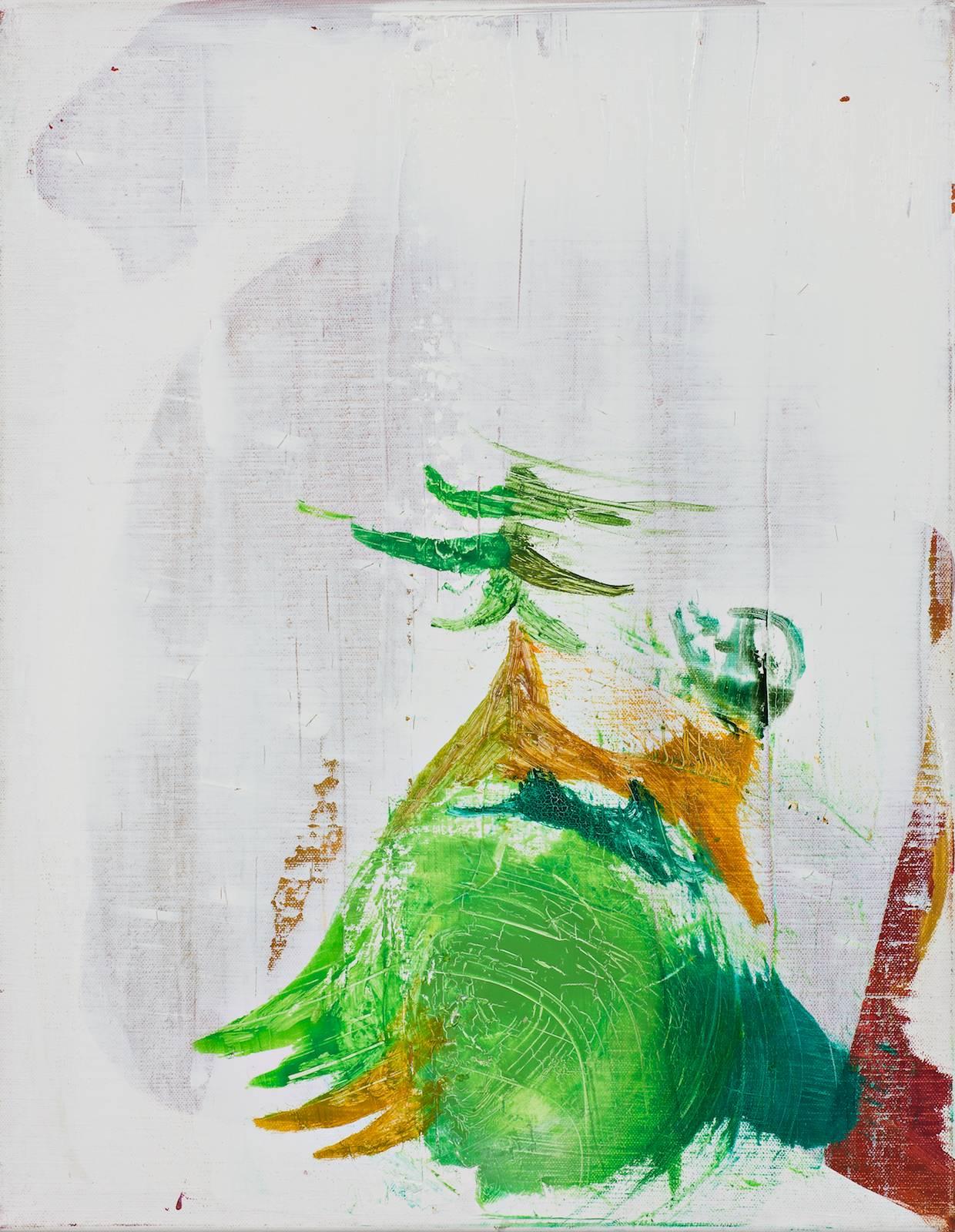 Memorandum / Grenadine Paintings, 2010, oil on canvas, 52 x 42 cm