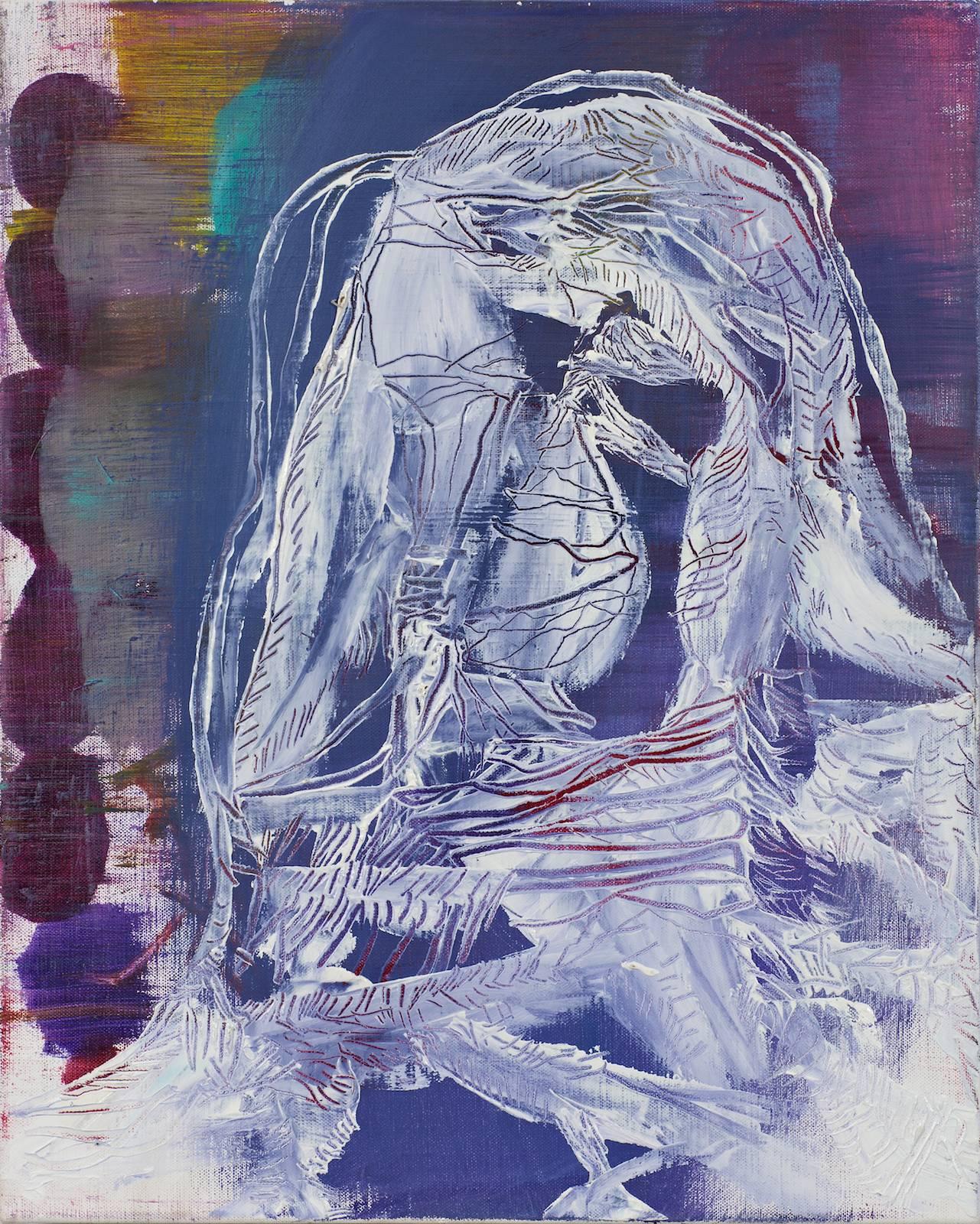 Pan / Grenadine Paintings, 2011, oil on canvas, 52 x 42 cm