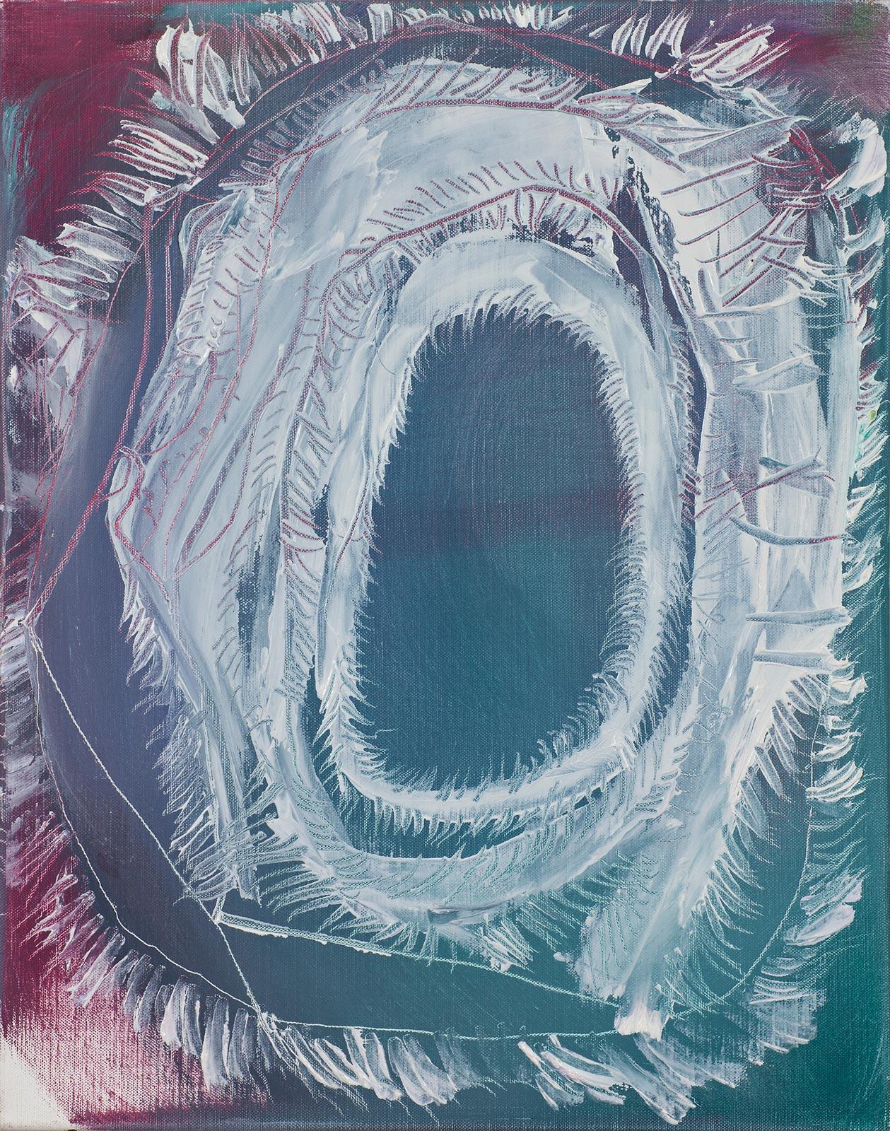 Aatola / Grenadine Paintings, 2011, oil on canvas, 52 x 42 cm