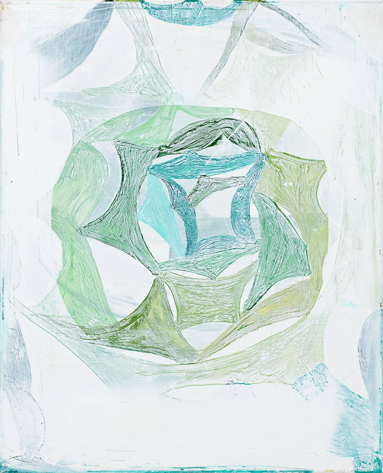 Primula / Grenadine Paintings, 2010, oil on canvas, 52 x 42 cm