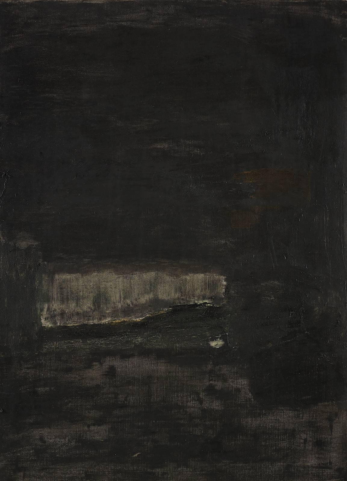 Landskap, 2012, oil on canvas, 98 x 70 cm