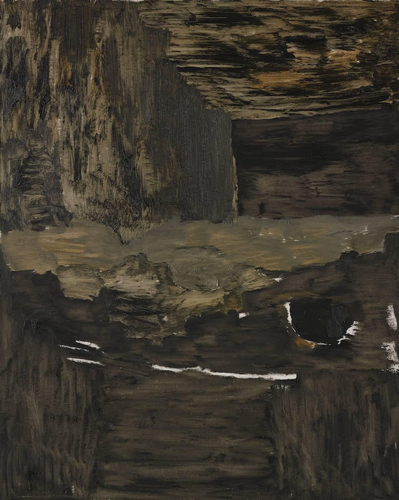 Landskap 4, 2012, oil on canvas, 75 x 60 cm