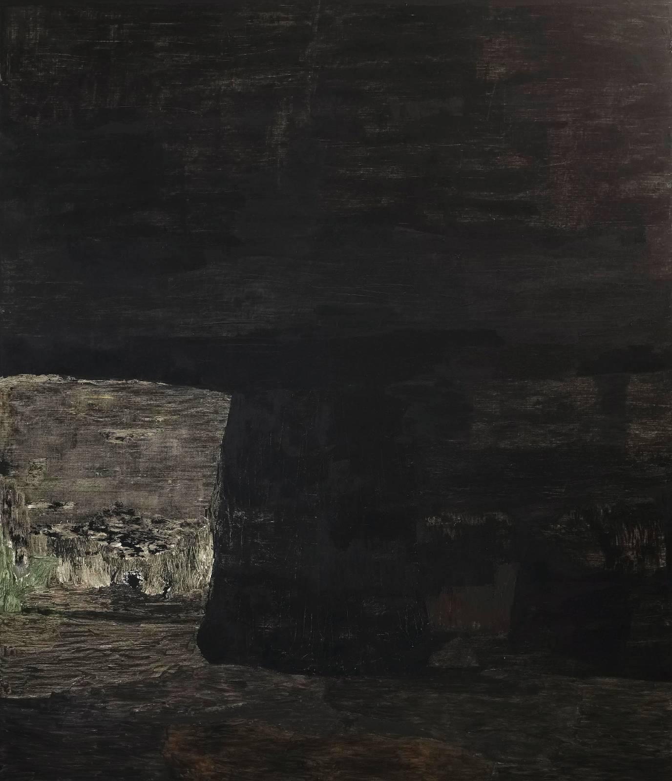 Grotta, 2012, oil on canvas, 303 x 260 cm