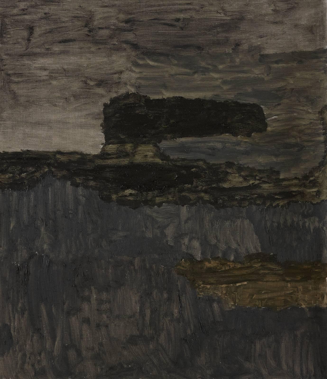 Landskap 7, 2012, oil on canvas, 74,5 x 64,5 cm