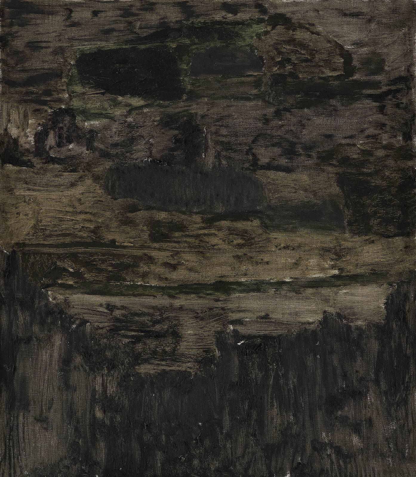 Landskap 8, 2012, oil on canvas, 74,5 x 64,5 cm