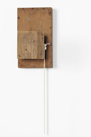 De Profundis X (piedestal), 2013 Mixed media 110 x 31 x 49,5 cm