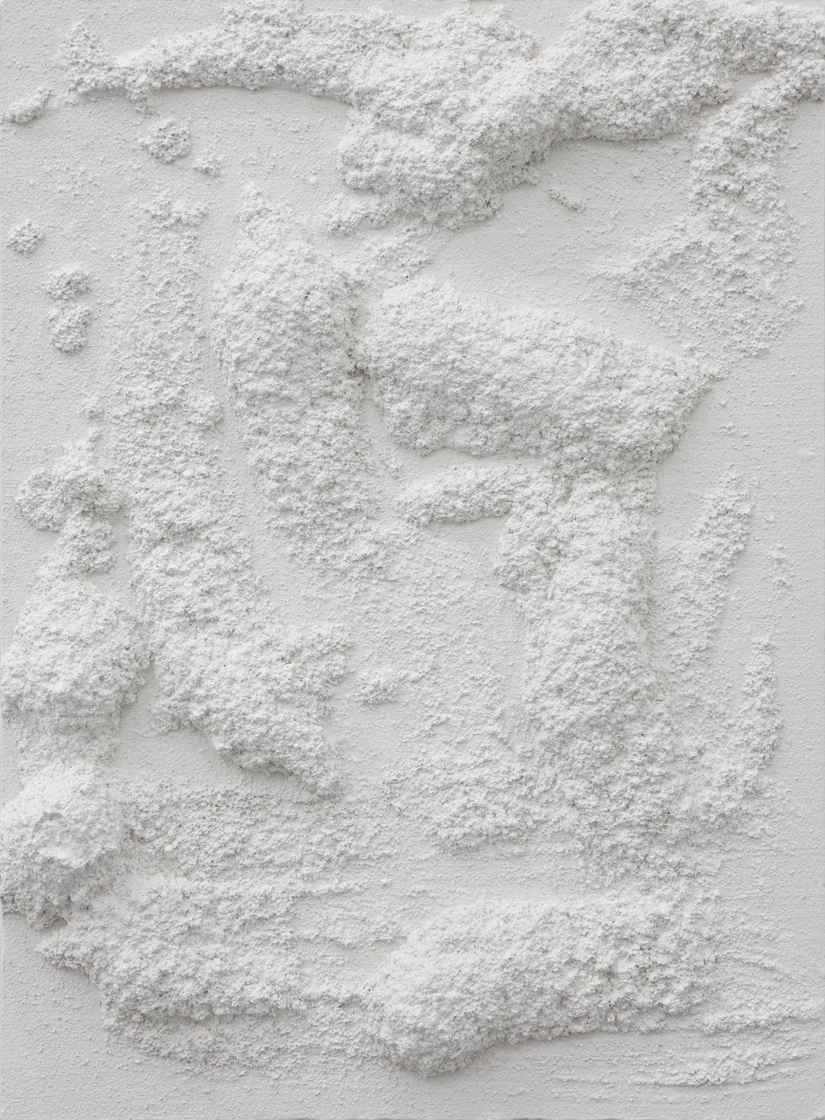 Untitled, 2012, plaster, 60 x 45 x 7,7 cm