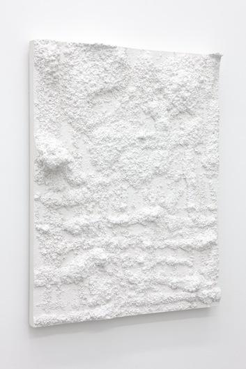Untitled, 2012  Plaster 75 x 60 x 11,5 cm