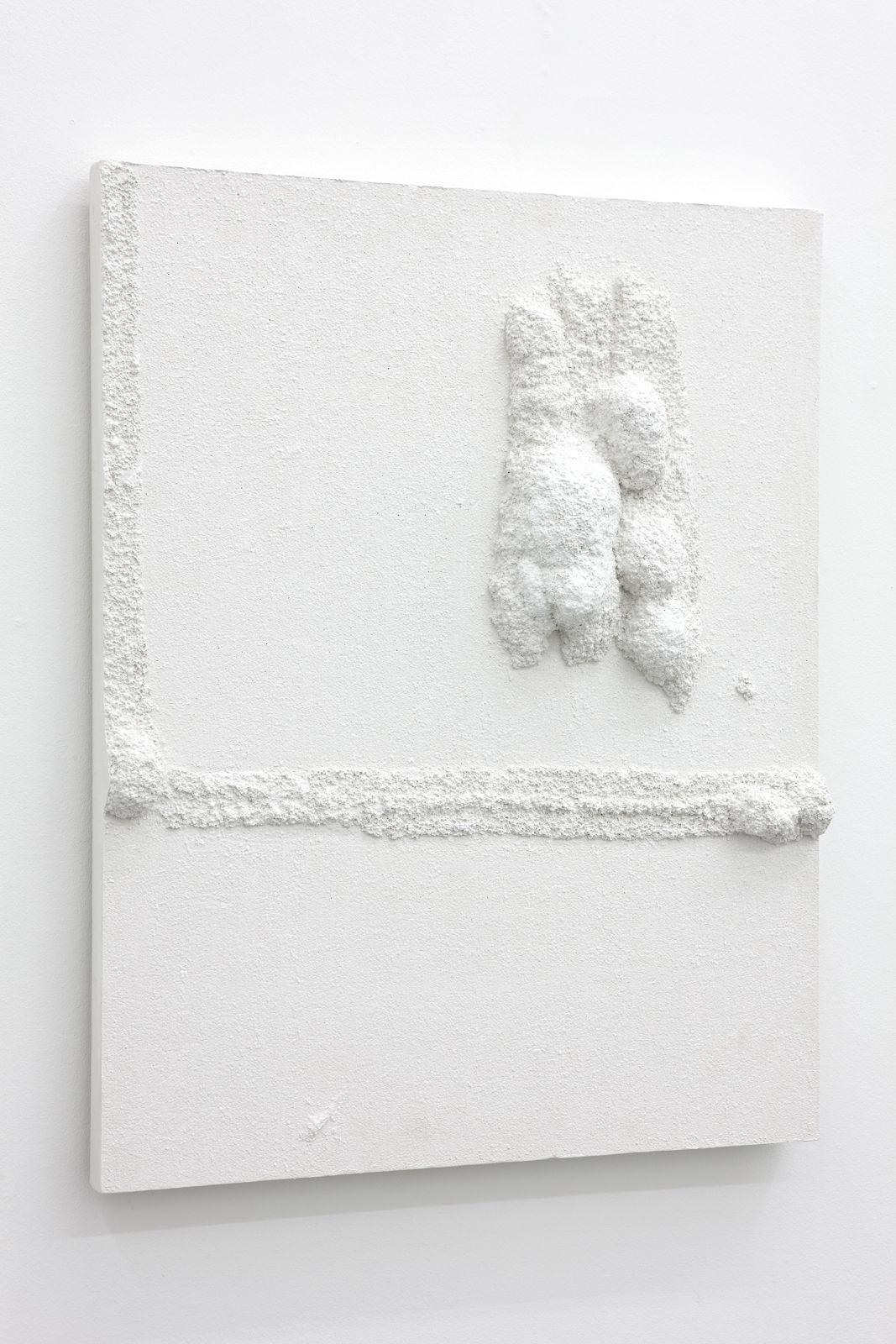 Untitled, 2012, plaster, 75 x 60 x 8,5 cm