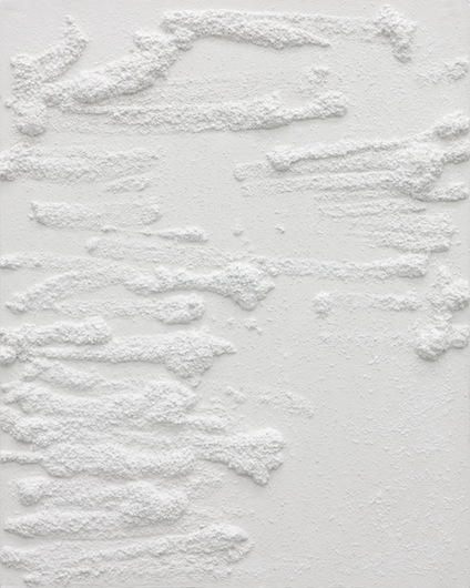 Untitled, 2012, plaster, 75 x 60 x 4,5 cm
