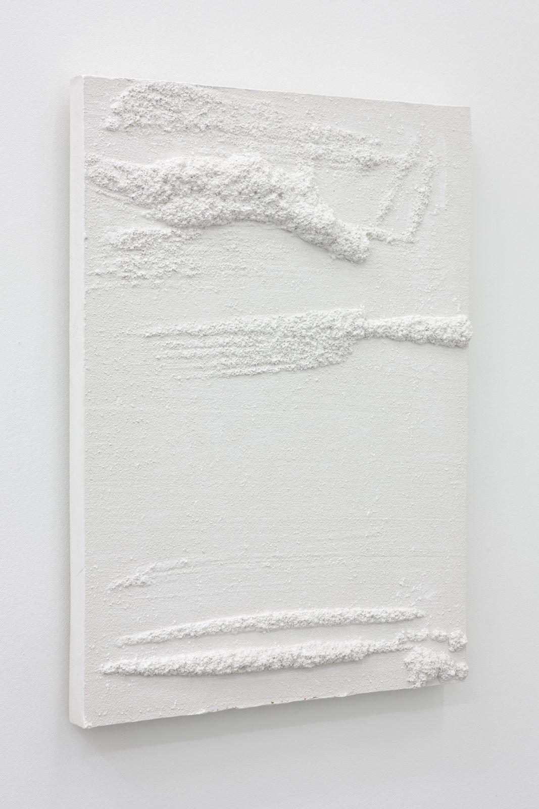 Untitled, 2012, plaster, 60 x 45 x 5,5 cm