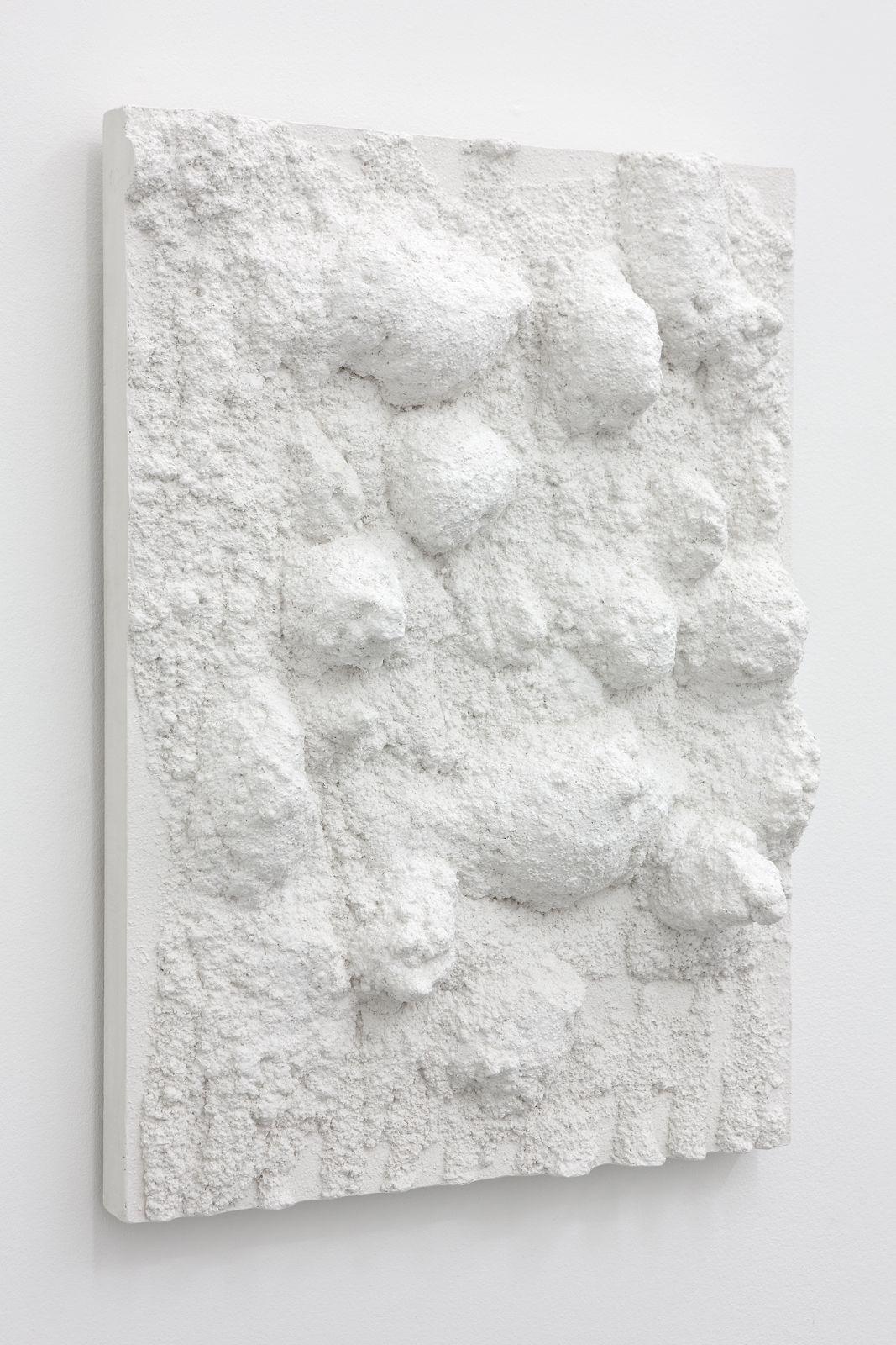 Untitled, 2012, plaster, 60 x 45 x 12,5 cm