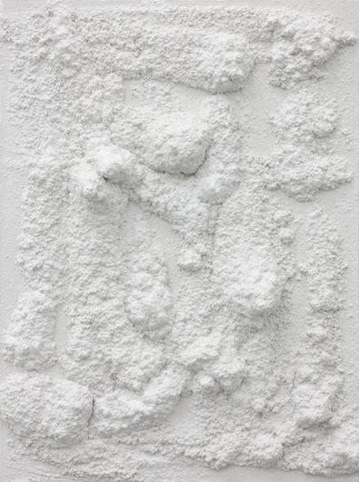 Untitled, 2012, plaster, 60 x 45 x 9,5 cm