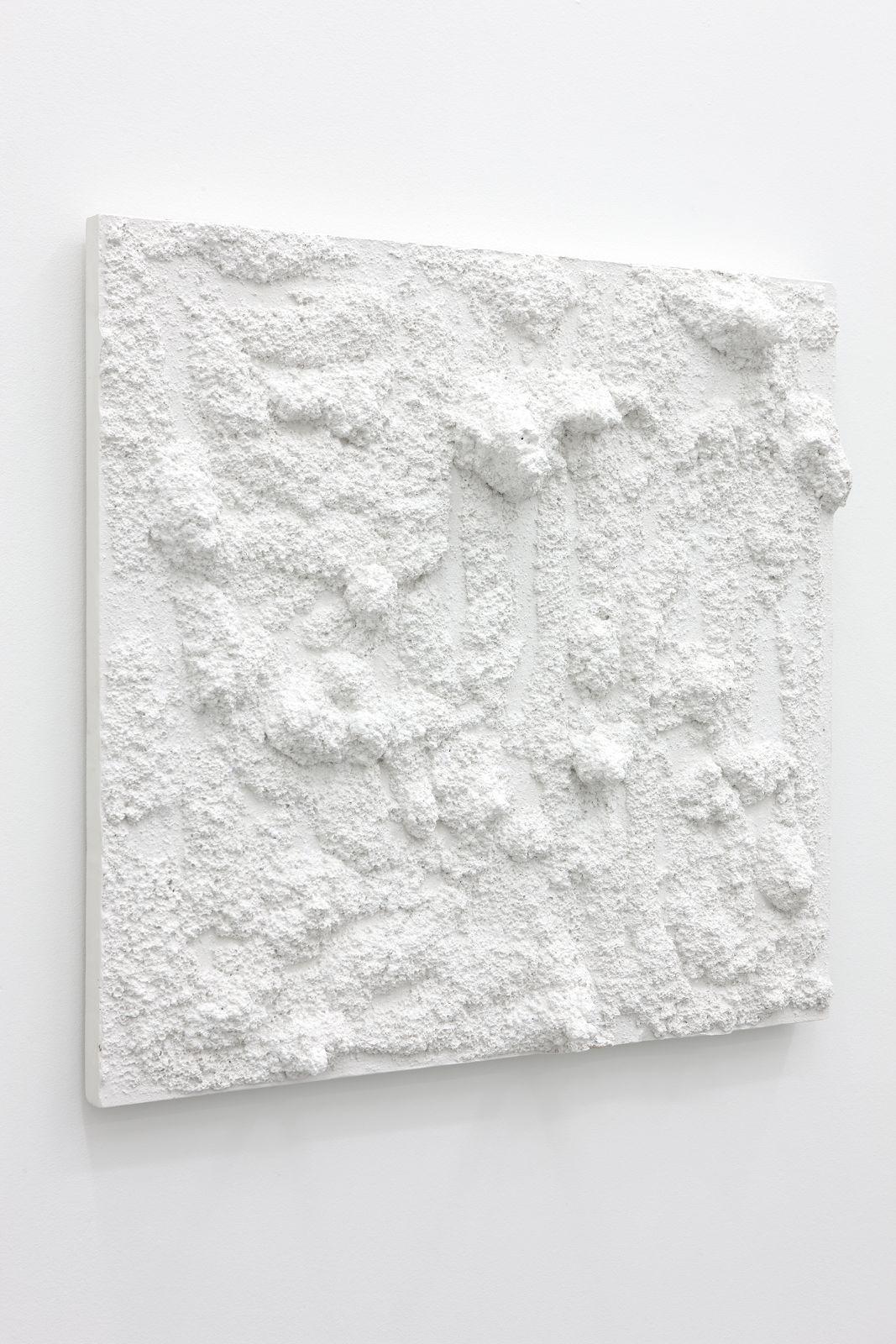 Untitled, 2012, plaster, 75 x 80 x 11,5 cm