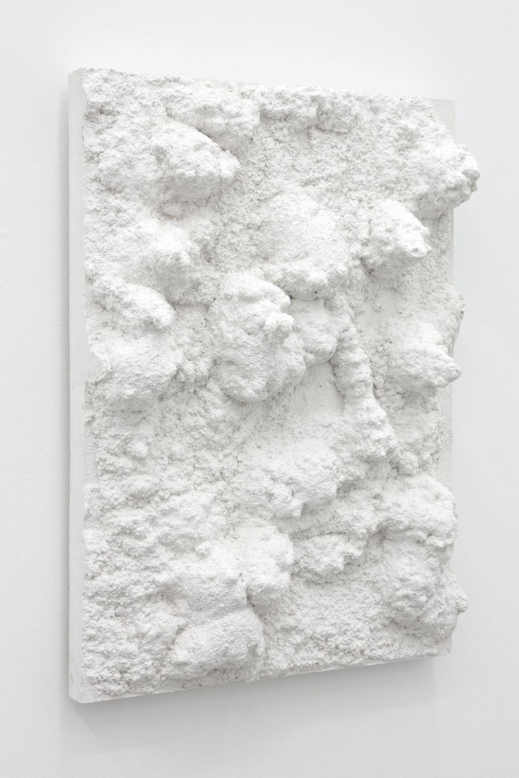 Untitled, 2012, plaster, 60 x 44 x 12,5 cm