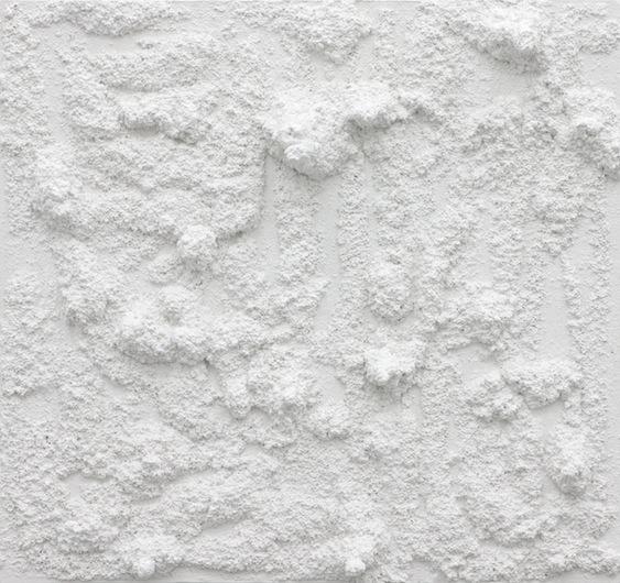 Untitled, 2012 Plaster 75 x 80 x 11,5 cm