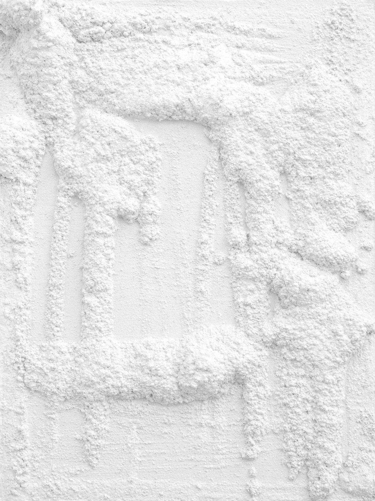 Untitled, 2012, plaster, 60 x 45 x 8,5 cm