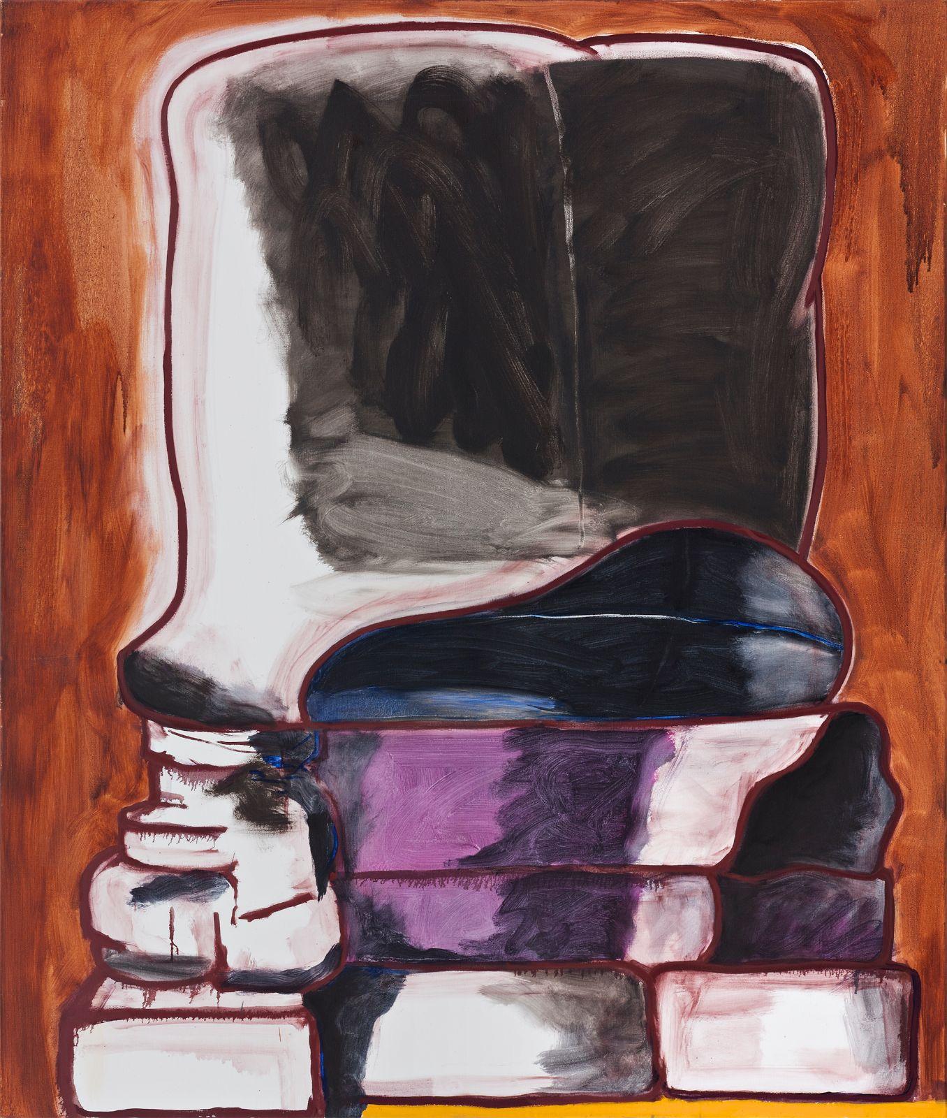 Paul Osipow, Didyma 2, 2012-2013, oil on canvas,160 x 135 cm
