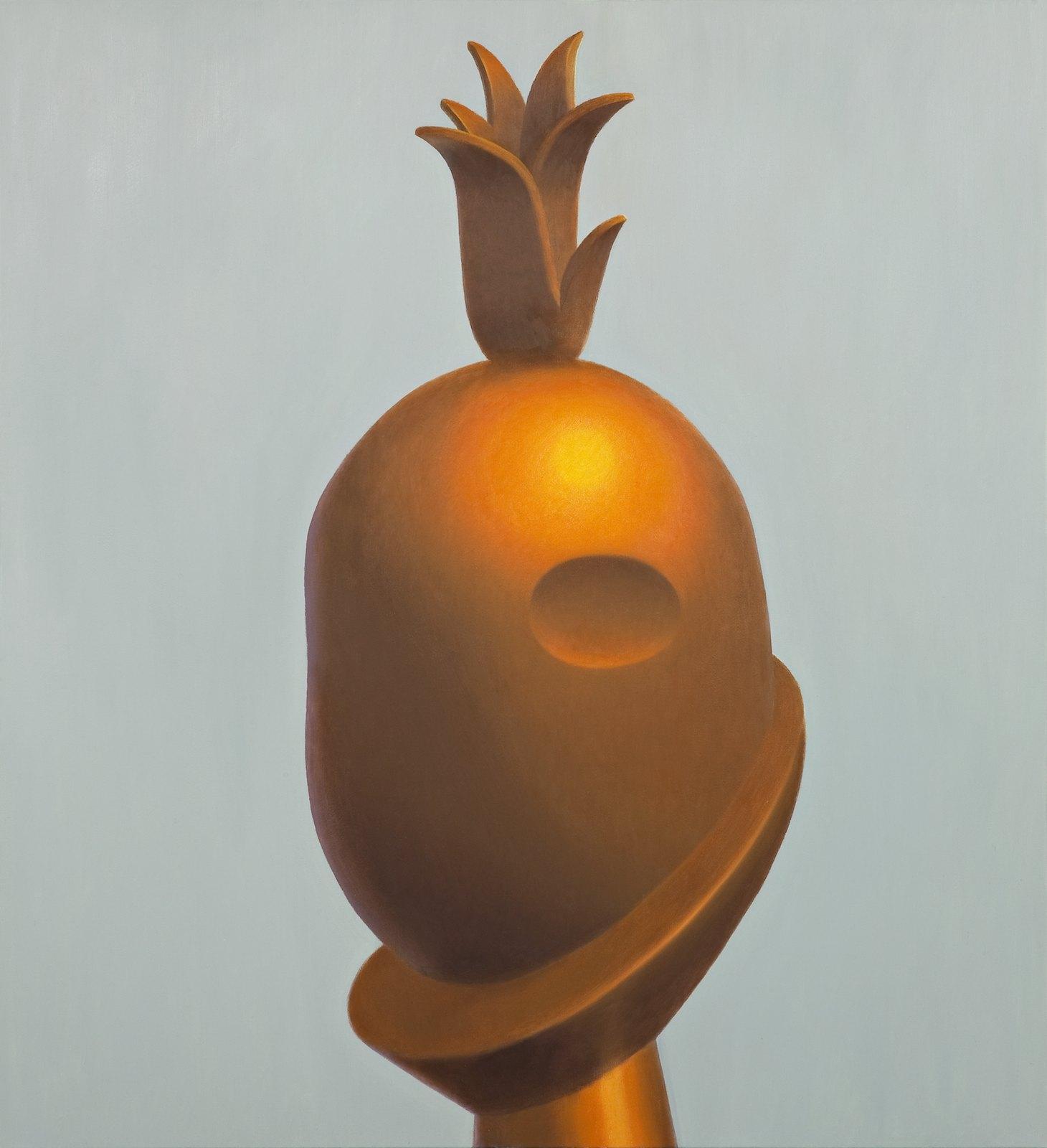 Bhagdad, 2009, oil on canvas, 175 x 160 cm