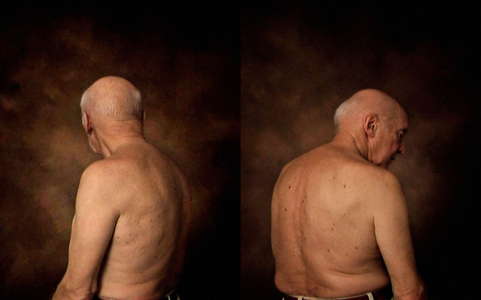 Still from Fadersporträtt/ Portrait of a father, 2008-2014, video, 8 min 42 sec, The Photo Studio Video Archive 2008