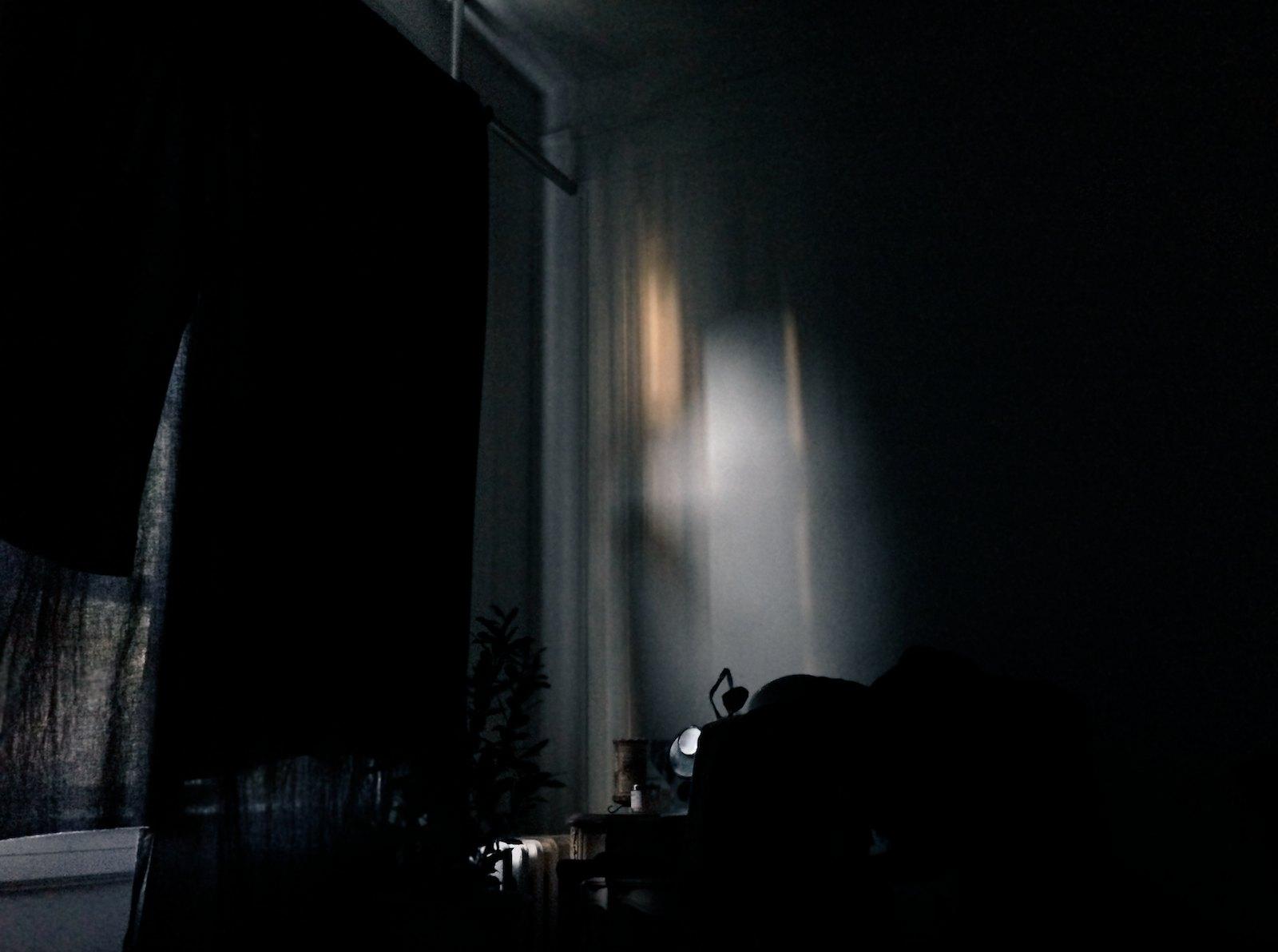 Black curtain, 2014, giclée print, 111 x 149 cm ed. 5