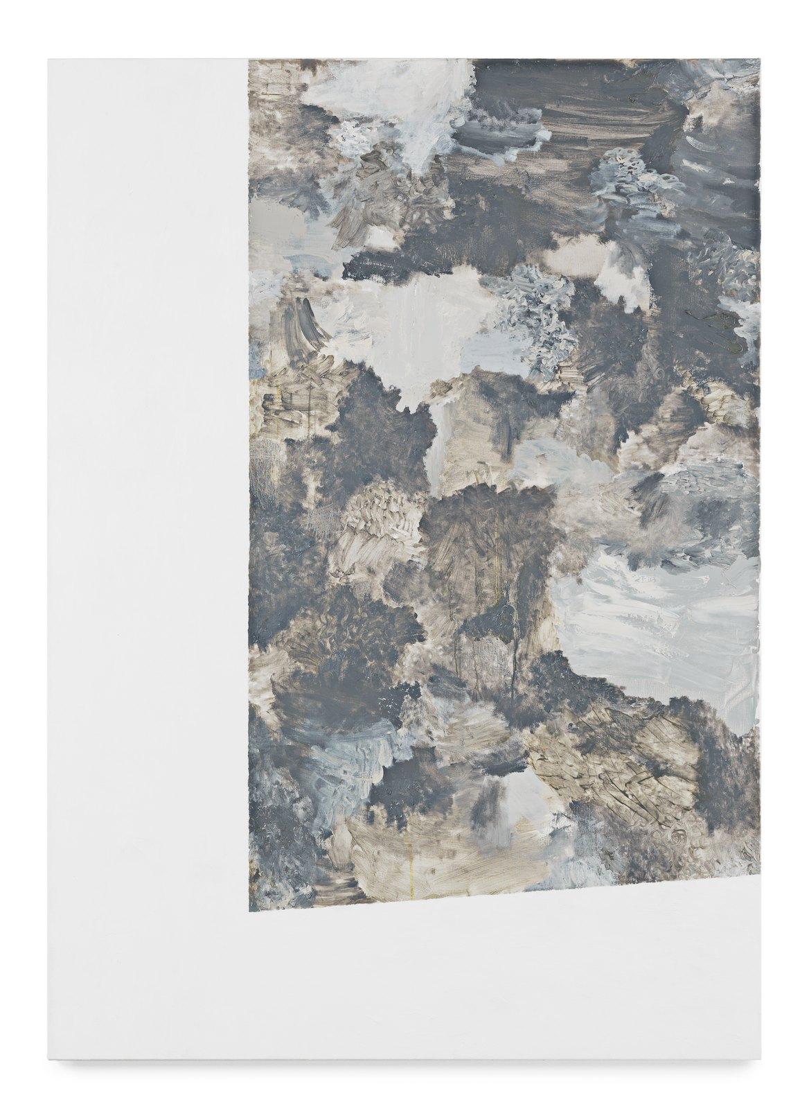 Viktor Kopp, Double space 2, 2011, oil on canvas, 170 x 120 cm