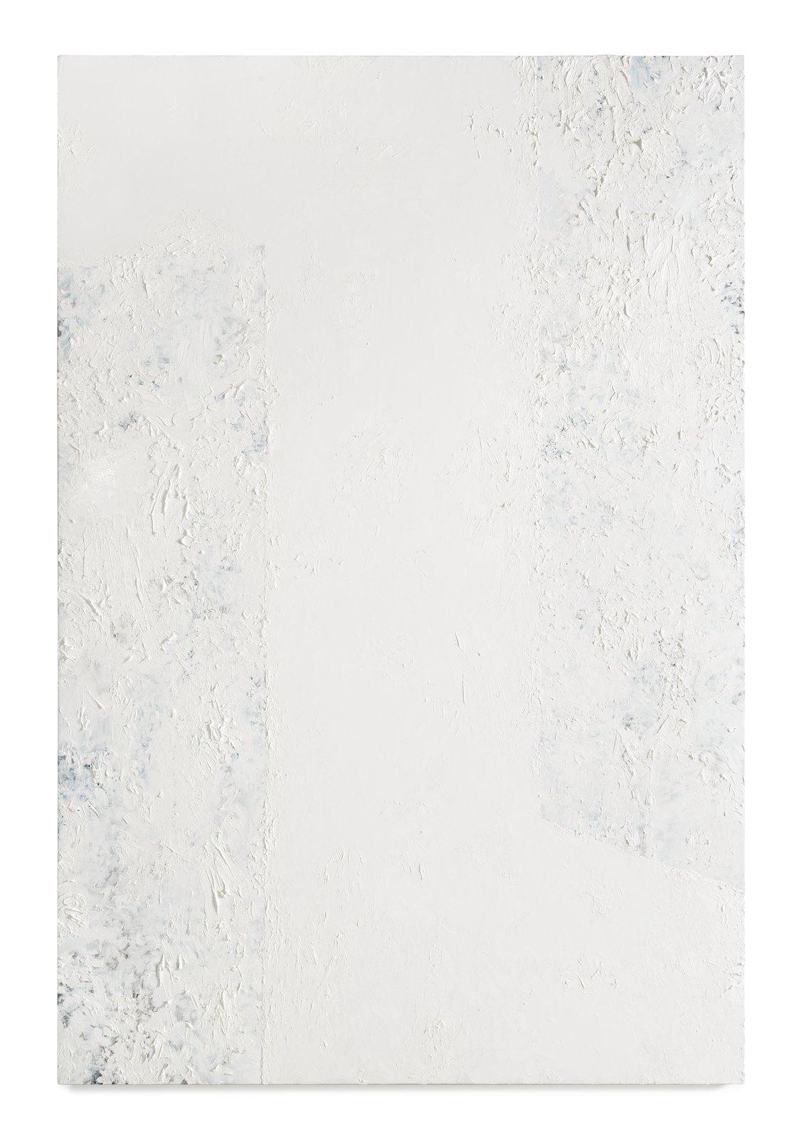 Viktor Kopp, Two Corners White, 2014, oil on canvas, 183 x 122 cm