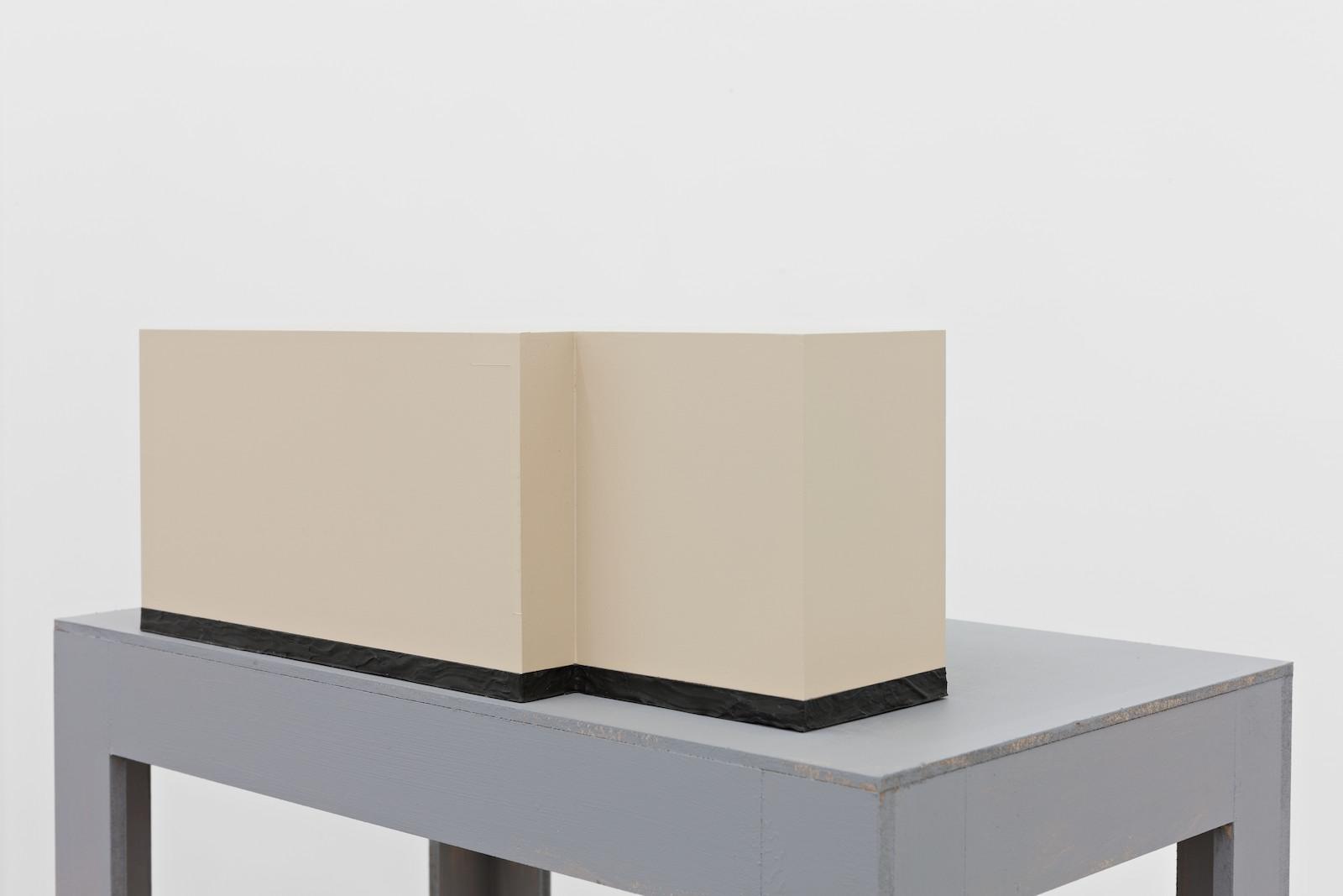 Chosement IV, 2014, acrylic on MDF, 14,8 x 38 x 11,7 cm