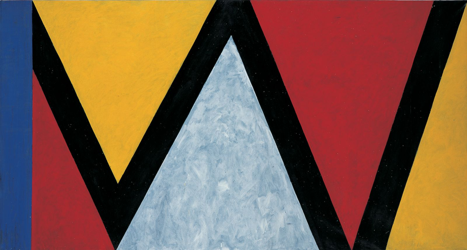 IW, 1985-86, acrylic on canvas, 230 x 430 cm
