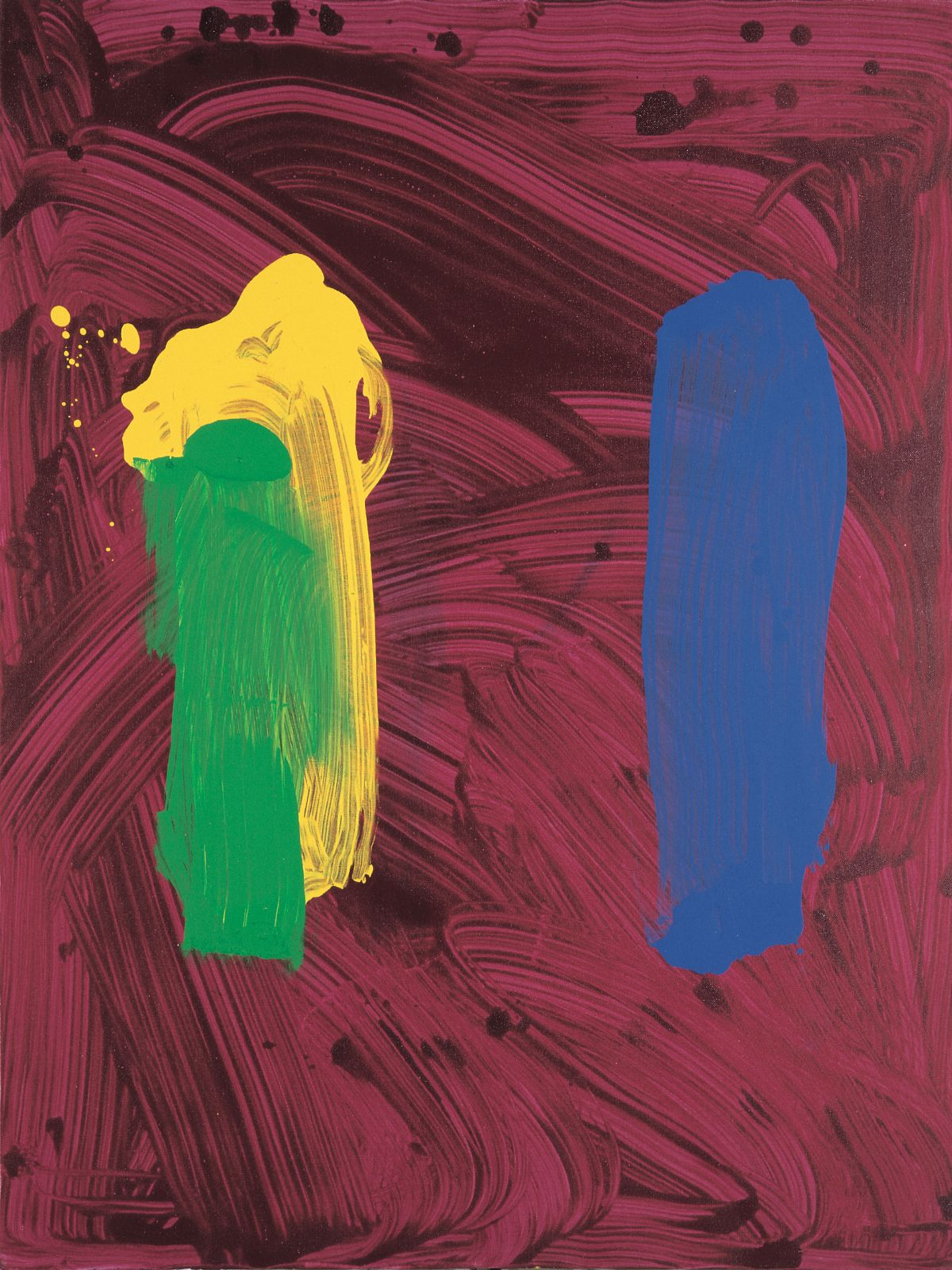 Untitled (Pearl-Paintings), 1994, acrylic on canvas, 100 x 75 cm
