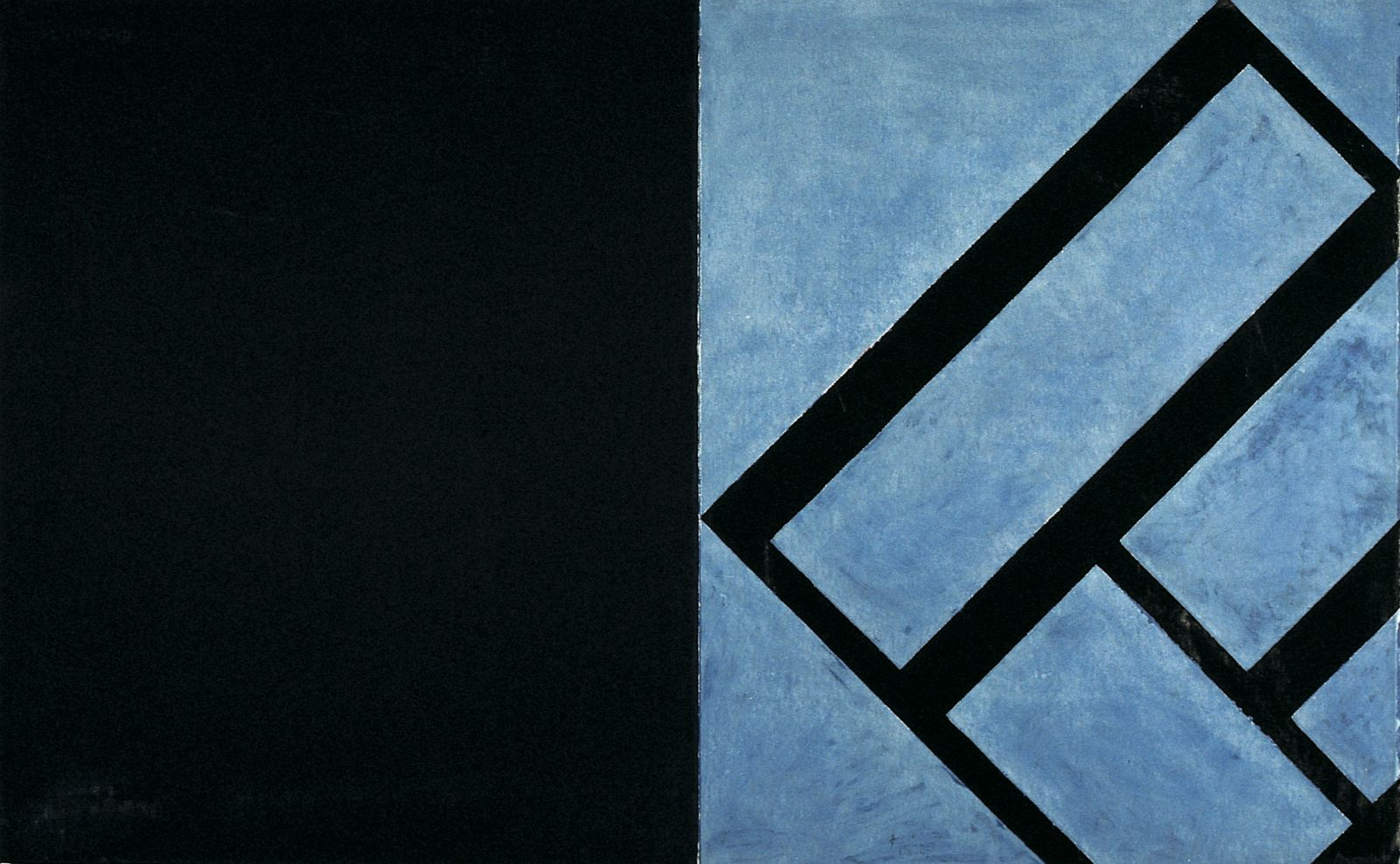 Monotype W9, 1990, oil on paper, monotype, 127 x 206 cm
