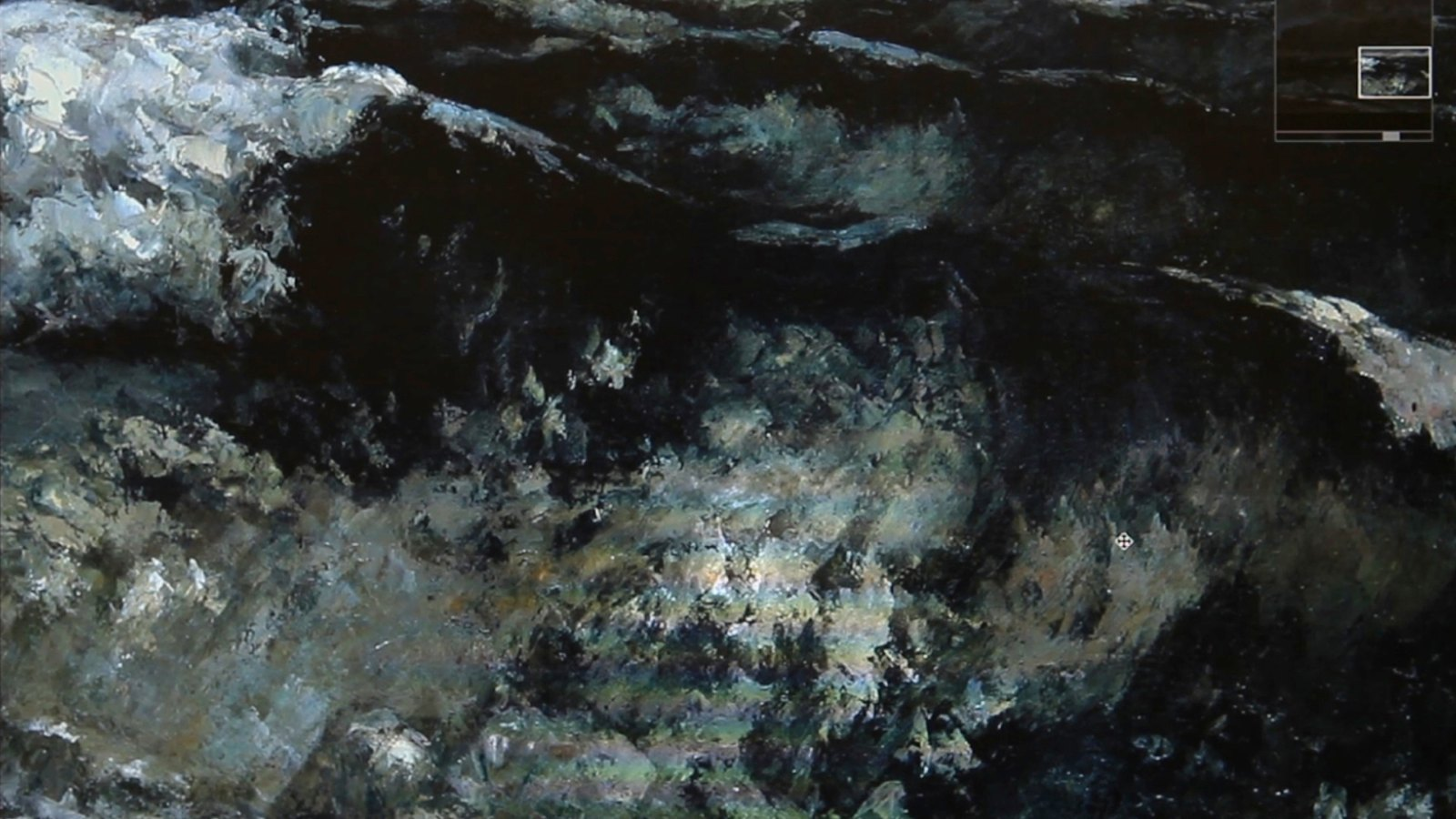 Still from Waves, 2014, HD video with sound, 19:12 minutes