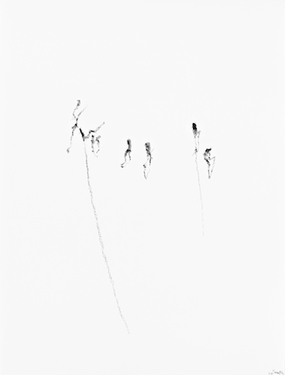 Untitled, 2014, crayon on paper, 27,7 x 21,5 cm
