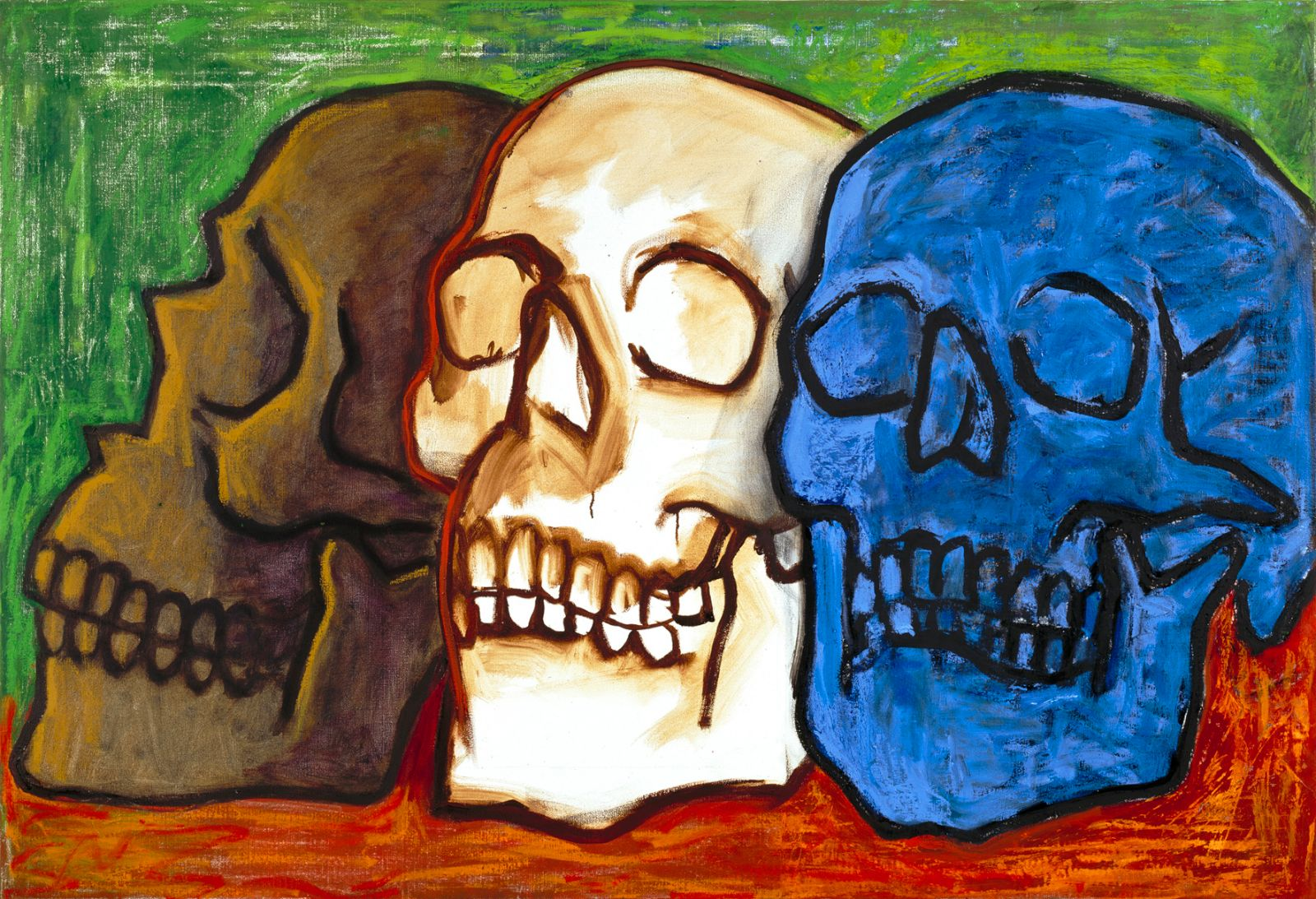 Untitled, 2006, oil on canvas, 89 x 130 cm