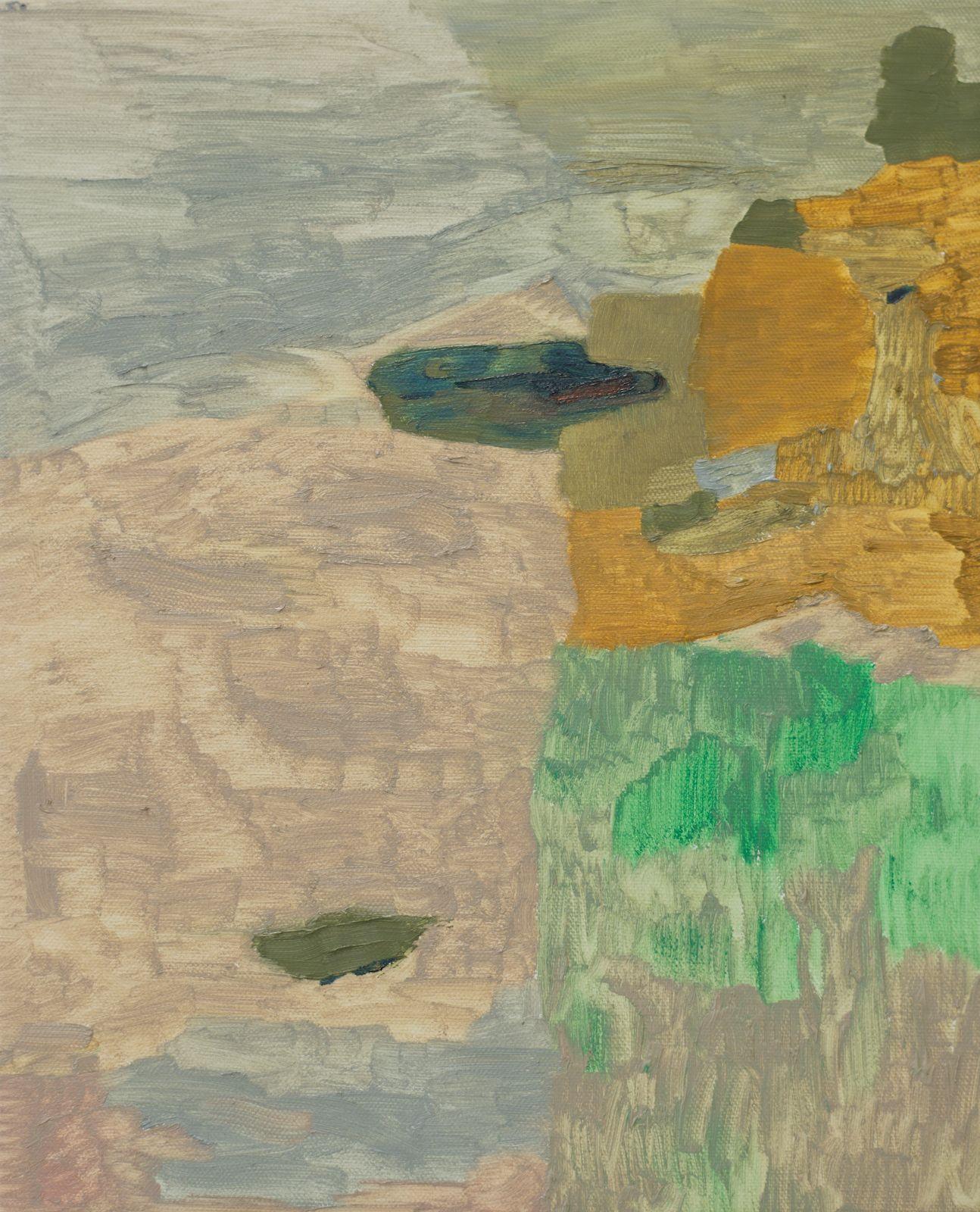 Meander V, 2015, oil on canvas, 50 x 40 cm