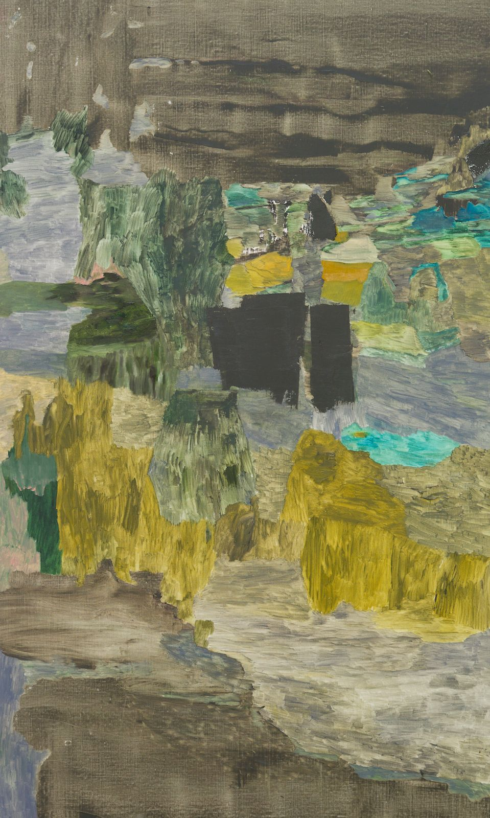 Meander VII, 2015, oil on canvas, 200 x 120 cm