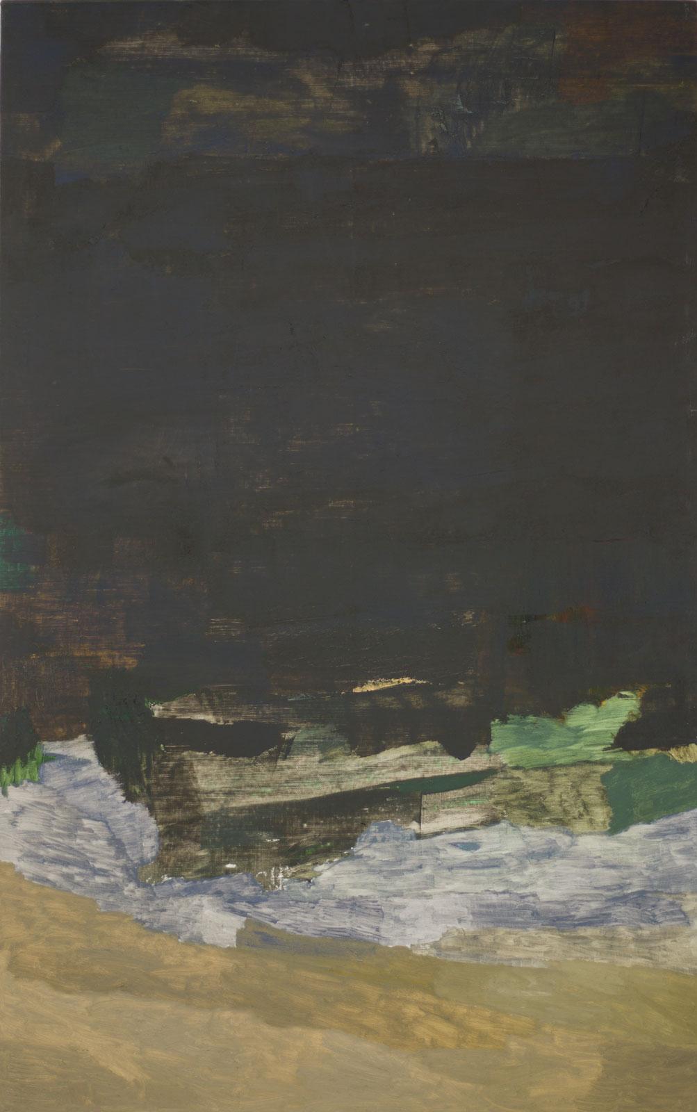 Yacyreta, 2014-2015, oil on canvas, 200 x 125 cm
