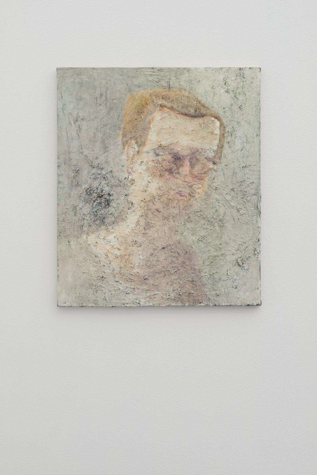 Kalle Lindmark, surfacing, 2014, oil on canvas, 65 x 55 cm