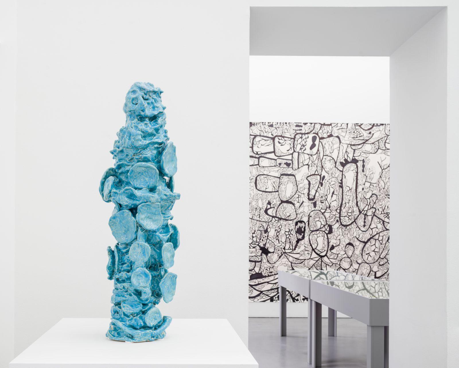 The Libertines No. 06, 2014, glazed ceramics, 90 cm