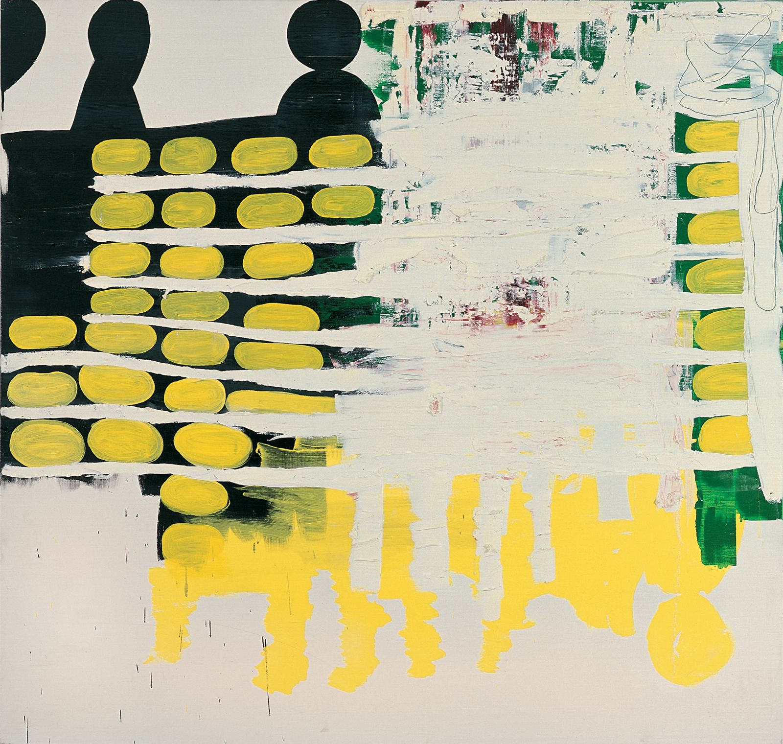 The Secret No. 13, 2001-2002, acrylic and oil on canvas, 185 x 195 cm